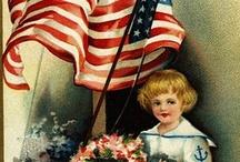 Retro/Vintage Patriotic Graphics / by Sherri