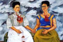 Frida Kahlo / by Gisa Seeholzer