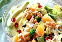 SALADS / I love salads, especially in the summer. Check out these delicious recipes. For more healthy recipes and tips, come and visit my website! http://alexandramcallister.com / by Alexandra McAllister