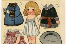 Paper Dolls / Paper dolls to print with clothes and  accessories. / by Kathleen Varano