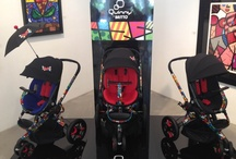 Britto Collection / Take a peek at the new Quinny and Maxi-Cosi collection by Internationally renowned pop artist Romero Britto. / by Quinny & Maxi-Cosi