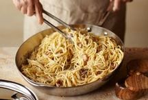 Receipes • Pasta / by Anita Sattler