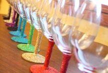 Wine Glasse Gift Ideas / Wine Glass Ideas / by Lori Chavarria-Vallejo