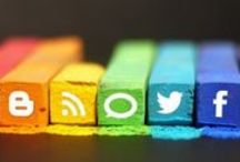 Social Media / Tips for Facebook, Twitter, LinkedIn, social media strategy, content marketing and more (Pinterest tips on a separate board) / by Sara Waters