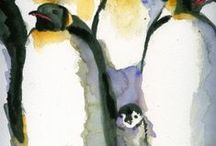 Watercolor Tutorials & Ideas / Watercolors tips and tutorials, and ideas for things to try. / by Chris Blevins Watercolors