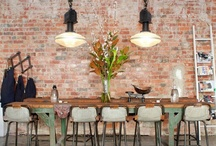 Office Space / Cool, mostly industrial spaces perfect for a design studio / by Sara Waters