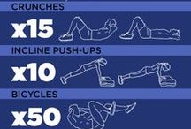 Fitness / Exercises to help get you in shape. / by Toni W The Love Hanger