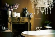 Breaking the Decorating Rules / For me you can't create tantalizing, intriguing interiors unless you break some major decorating boards. The images below show you how! / by Abigail Ahern