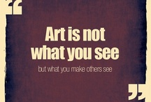 Eye for ART / Art, Photography, sculpture, etc. that I like.  / by Penny Wright
