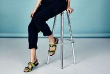 ELLE styles Clarks SS14 / The ELLE way to style new-season Clarks footwear. / by ELLE UK