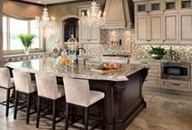 Kitchens, the heart of the home / Dream kitchens / by Debbie Lachenmeier Cecak