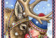 christmas art / by Mary Ann Parks