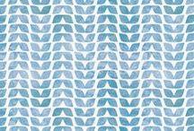 pattern / art, illustration, seamless, pattern, wallpaper, color / by Lori Weitzel