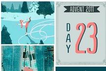advent calendar merry christmas / by Lori Weitzel