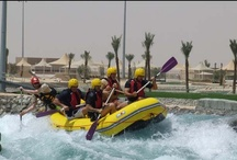 Watersports / From the Middle East's first wakeboarding, waterskiing and kneeboarding cable ski parks (Al Forsan International Sports Resort), to the region's  first man-made white water rafting, kayaking and surf facility in the foothills of the majestic Jebel Hafeet (Wadi Adventure), the emirate has something for every watersports lover. http://visitabudhabi.ae/en/what.to.do/sports.and.recreation/watersports.and.sailing.aspx / by Visit Abu Dhabi