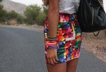 sassy - threads / Moxie style threads: leather, jean, designer print ts / by Moxie Garcia