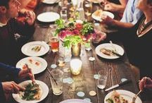 DINNER WITH FRIENDS.  / by Elizabeth Jacob
