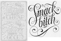 Typography Inspiration / by Johana Barretto