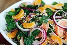 Food - Salad & Dressing / by Karla Curry | GwendyLicious
