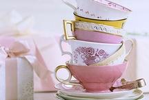 xo cake plates tea cups & more / by xoj9Creative