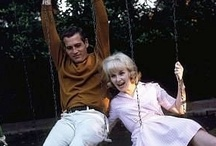 Paul Newman (1925-2008)...Joanne Woodward / What a beautiful couple.  It was so obvious how much they loved each other.  They were both great actors.  It's too bad she had to lose him and in such a painful death.  He could also play a good comedy. / by Pat Marvin