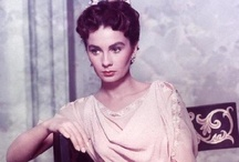 Jean Simmons~Stewart Granger / She was so beautiful and such a good actress.  Loved her in She Couldn't Say No / by Pat Marvin