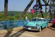 Route 66 - Illinois / things to see along the way / by Trudi Ross