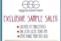 Egg Baby Sample Sale This Saturday at Fiddlesticks! / by Fiddlesticks San Francisco