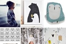 A/W 2014 Kids' Fashion Trends: Woodland / Wonderland / Notes on the Autumn / Winter season: tons of cozy knits, prints and graphics inspired by whimsical woodland friends, new just-for-the-kids denim, and a few pops of metallic shine. Here we go!  / by Fiddlesticks San Francisco
