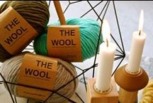 THE WOOL YARN / Our yummy & luxurious 100% Peruvian wool yarn. / by WE ARE KNITTERS