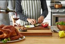 Thanksgiving Tips and Recipes / Getting ready for Thanksgiving? Keep calm and baste on with recipes for turkey and all the fixings, plus a game plan that will keep your meal prep right on track. / by The Wall Street Journal