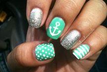 fancy nails / by Shandra Hawkins