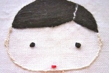 ♥ embroidery / stitches / embroidery stitches / by Knuffels à la carte