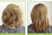 ANTI-FRIZZ BY YUKO Before & After / by YUKO Hair Straightening