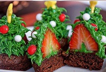 Christmas Food For Thought / Yummy ideas for your Christmas table. You can learn to make your own edible crafts using delicious Christmas recipes.  / by AllFreeChristmasCrafts