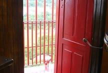 red doors / by Akua Kumah
