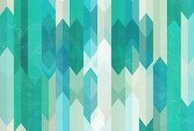 Colors, patterns, fonts and more / by Lindsey Linge