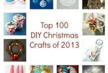 Best of 2013 Christmas Crafts / Find the most popular Christmas crafts around all in one place. Snowman crafts, Santa crafts, DIY wreaths, Handmade Christmas ornaments, and more! / by AllFreeChristmasCrafts