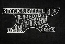 Typography & Lettering / Art using words. / by Meghan Gallagher