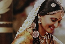 South Indian Bride & Styles / South Indian Brides, South Indian wedding looks.  We want you to share your pins with us!!  Contact us so we can add you to our board (then it will be added to your boards) info@shaadi-bazaar.com / by Shaadi Bazaar