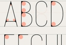 Just My Type / Typography, fonts, and cool writing of all varieties.  / by Elizabeth LaBau @ SugarHero.com