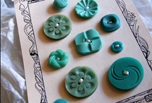 Buttons / by Karin Jordan {Leigh Laurel Studios}