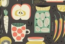 Textiles and Whatnot / by Karin Jordan {Leigh Laurel Studios}