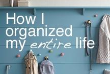 Organizing / by Angela S.