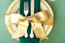 Table Decorating | Enchanting Entertaining at Home / Tablescape, tableware, and table setting ideas for holidays, special events and everyday dining and living. / by Carmen @ The Decorating Diva, LLC