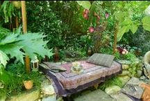 Garden | Inspired Outdoor Living / Beautiful, inspiring, elegant and serene garden decorations for outdoor spaces. / by Carmen @ The Decorating Diva, LLC