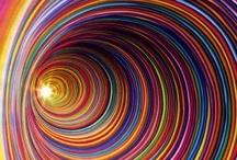 ۞RAINBⓄW۞  / {Spectrum of colors}  / by Monica Mitchell