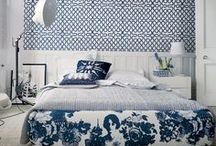Blue & White | Home Decor Color Trends 2014 via The Decorating Diva  / The Decorating Diva: Blue and white color direction for 2014 inspired by porcelain, ceramics and mosaics from Holland, Portugal, China and Japan. / by Carmen @ The Decorating Diva, LLC