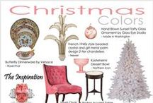 Jewel Inspired Christmas Decor & Color Schemes | The Decorating Diva,LLC / Holiday Furniture & Decor Look Books: Exclusive Decorating Diva Color-rich Precious Jewels Inspiration for the Holiday Season.  / by Carmen @ The Decorating Diva, LLC