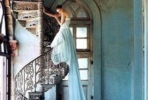 Spiral Staircases | Architectural Elements  / by Carmen @ The Decorating Diva, LLC
